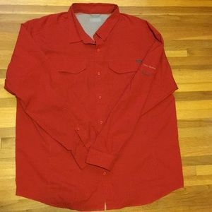 Columbia Omni-Shade long sleeve men's xl